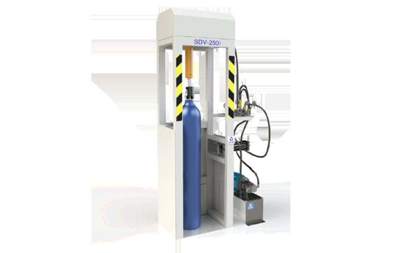 cambiadora de valvulas gases industriales